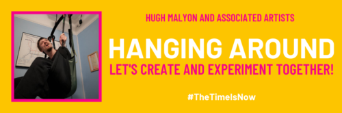Hanging Around - The Time is Now promotional poster