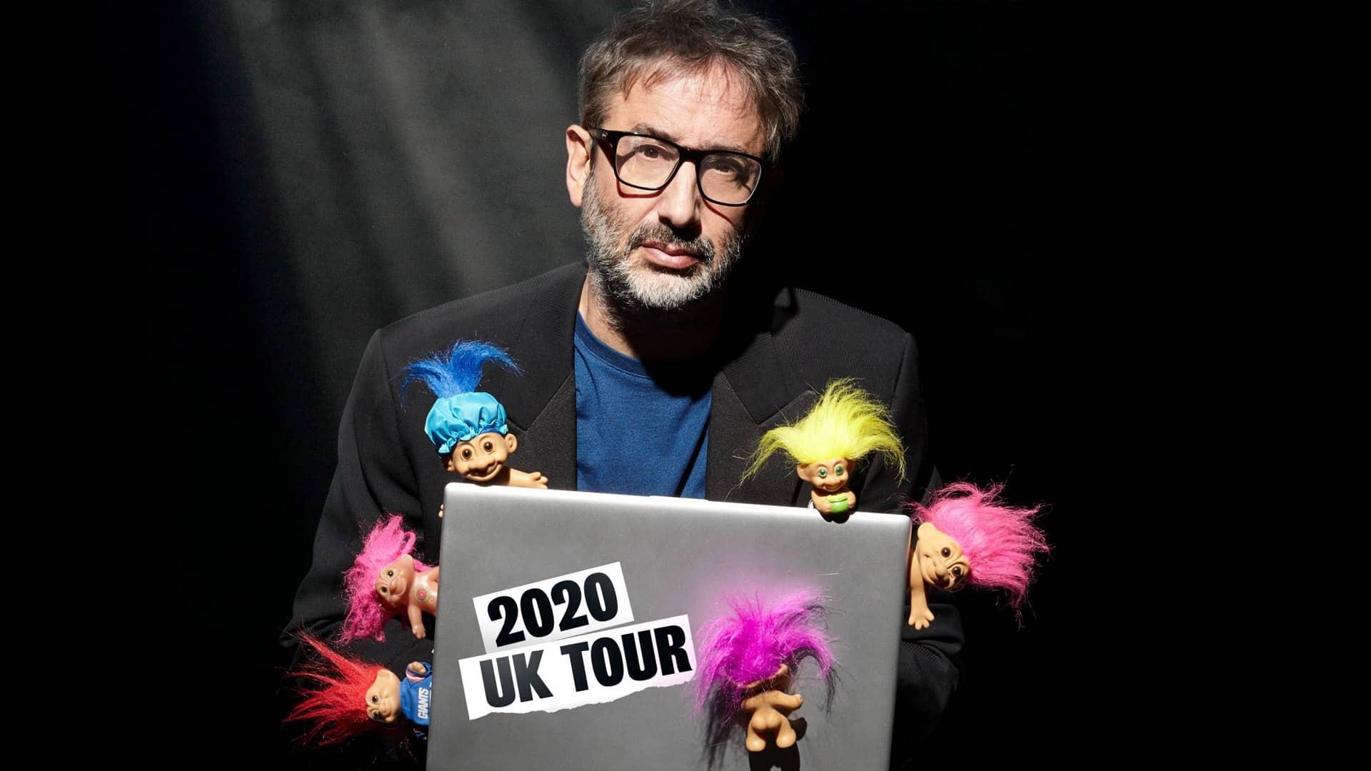 David Baddiel - Trolls: Not the dolls poster