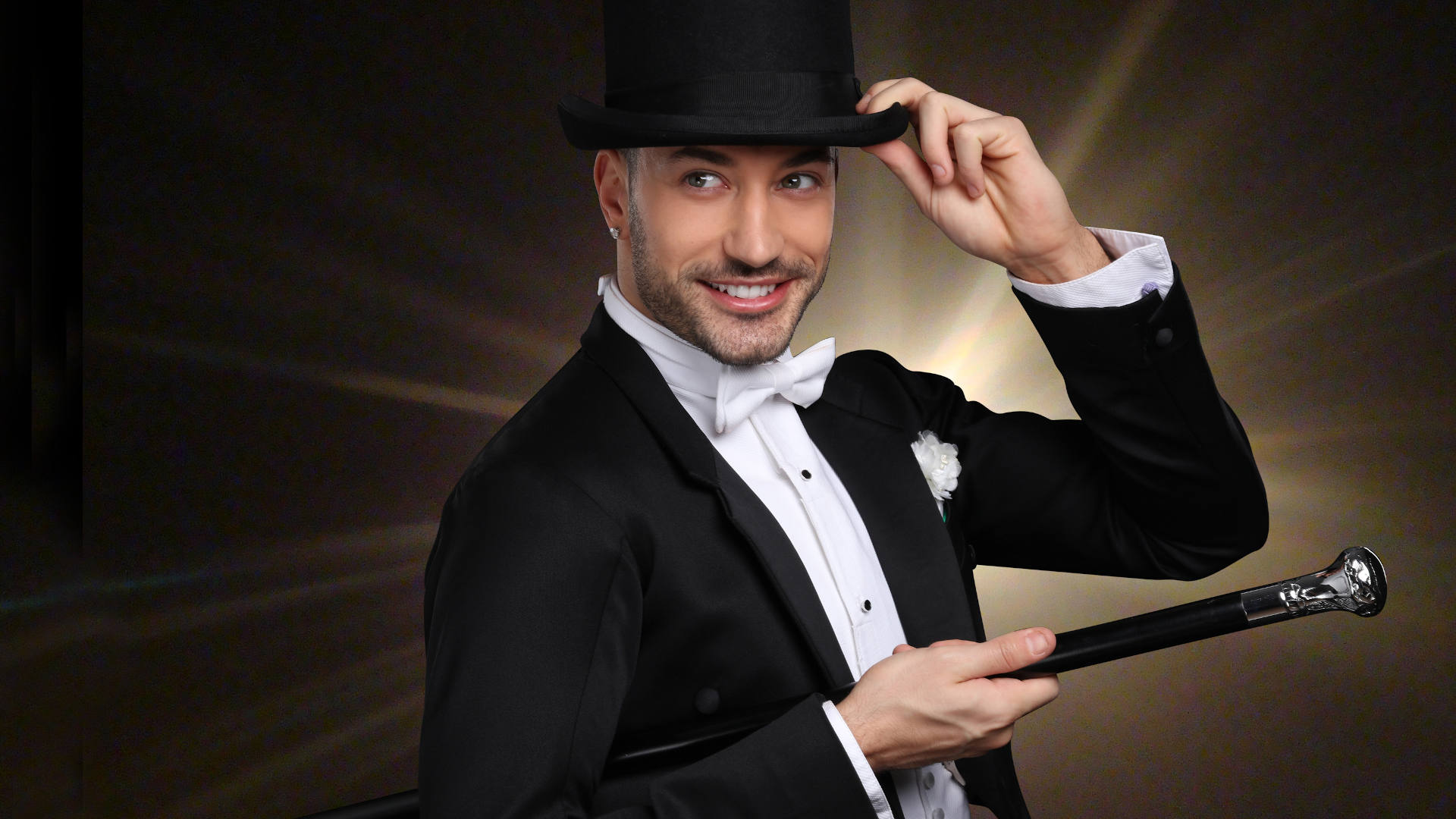 Giovanni Pernice portrait from 'This is Me' production