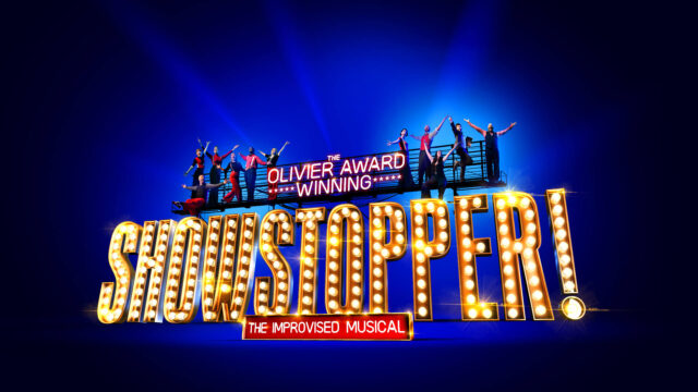 SHOWSTOPPER: The Improved Musical advert with cast members