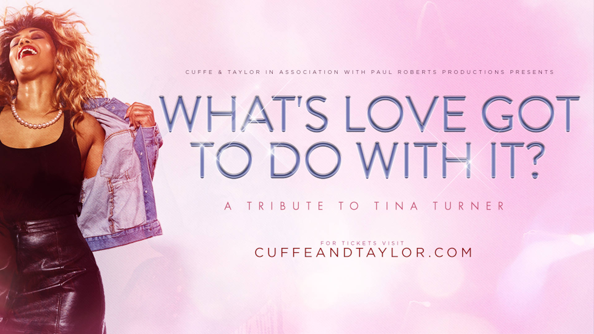 What's Love Got To Do With It? A Tribute to Tina Turner cover advert