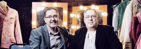 Photo of Daniel Buckroyd and Steve Bennett