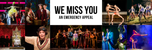 We Miss You: An Emergency Appeal promotional poster