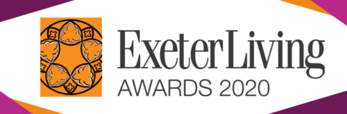 Exeter Living Awards 2020 promotional poster