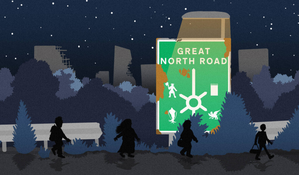 Great North Road project cover