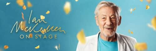 Ian McKellen On Stage promotional poster