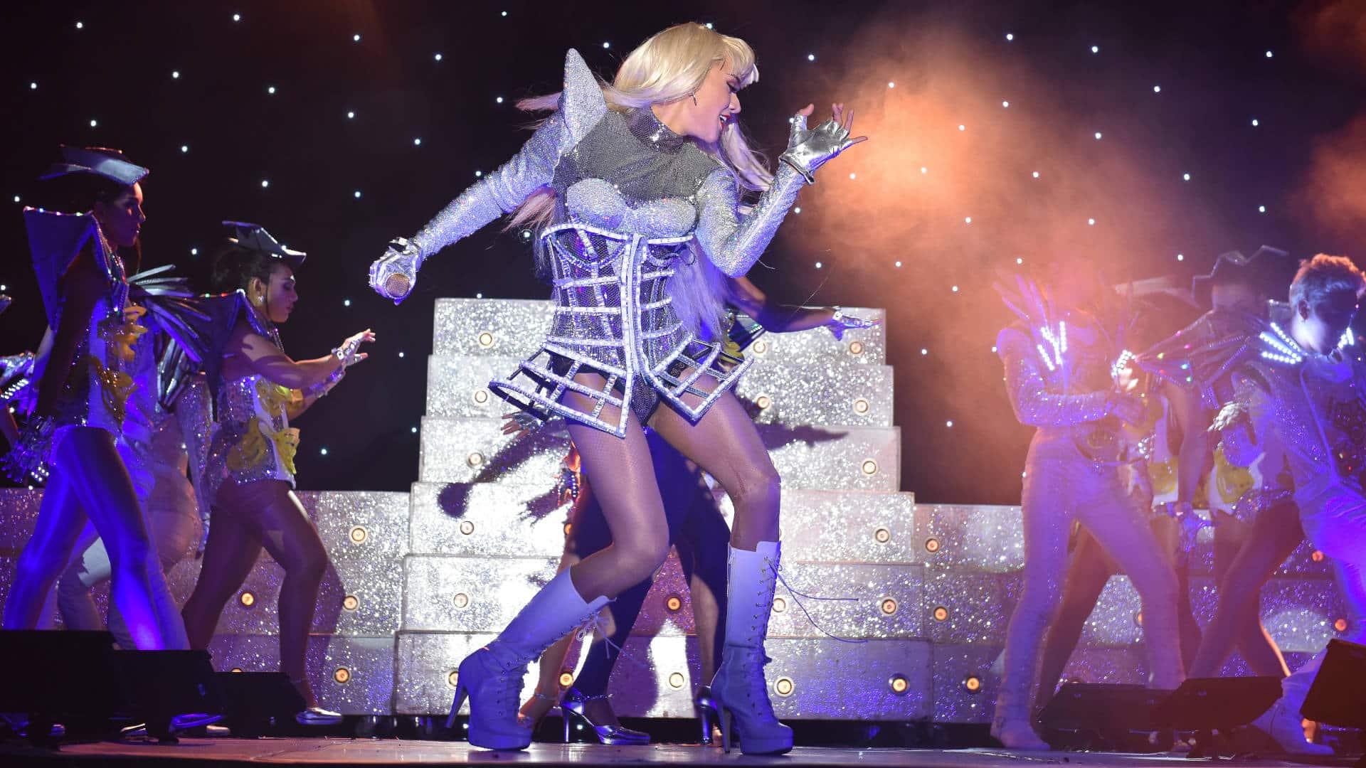 Ladyboys Lady Gaga impersonation
