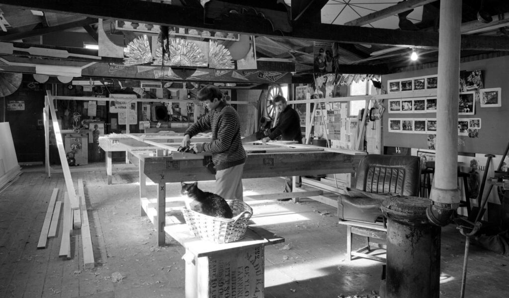 Northcott Carpentry Workshop, March 1970