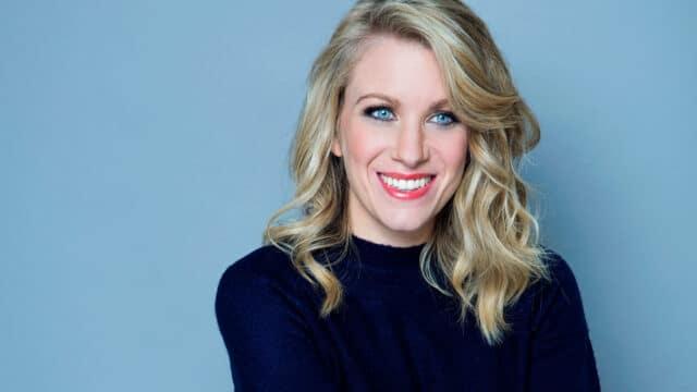 Rachel Parris with a big smile!