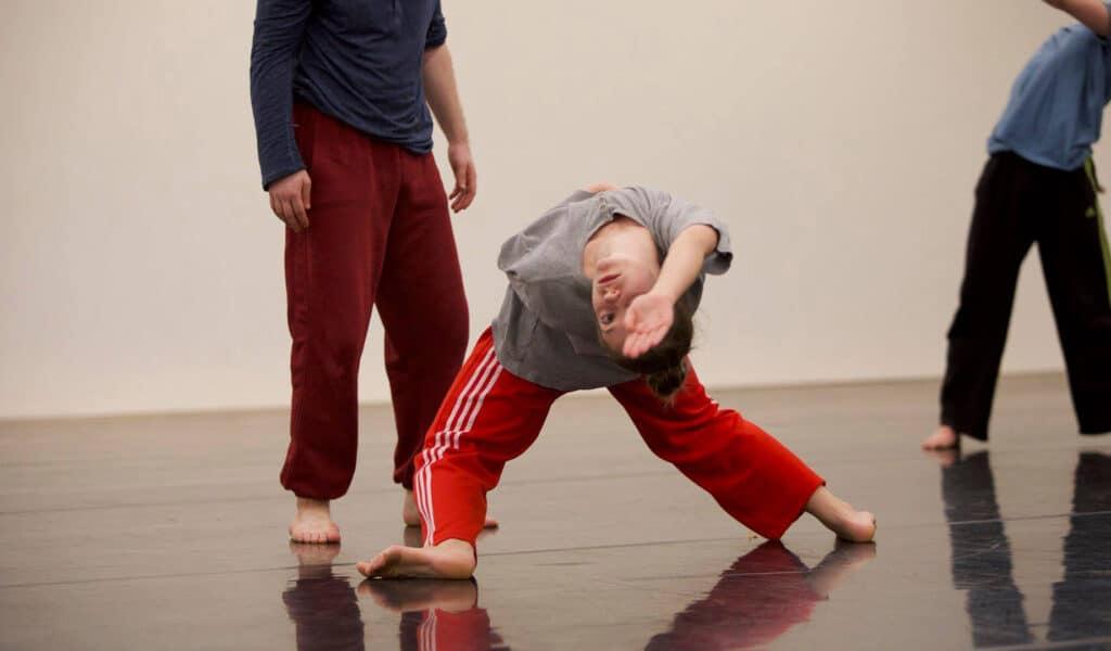 Richard Chappell dance rehearsal