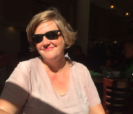Photo of person wearing sunglasses