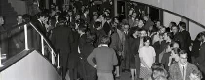 Historic photograph of Exeter Northcott foyer