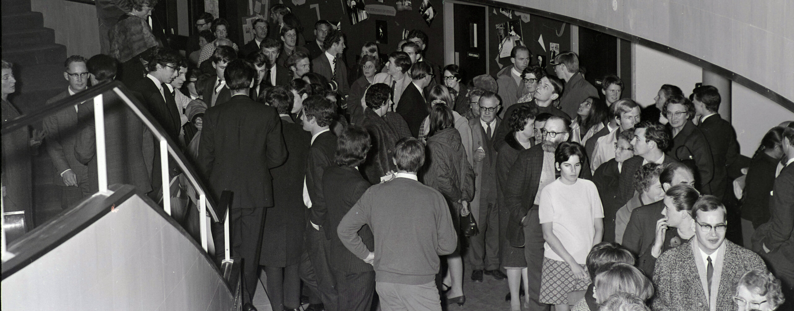 Historic photograph of Exeter Northcott foyer