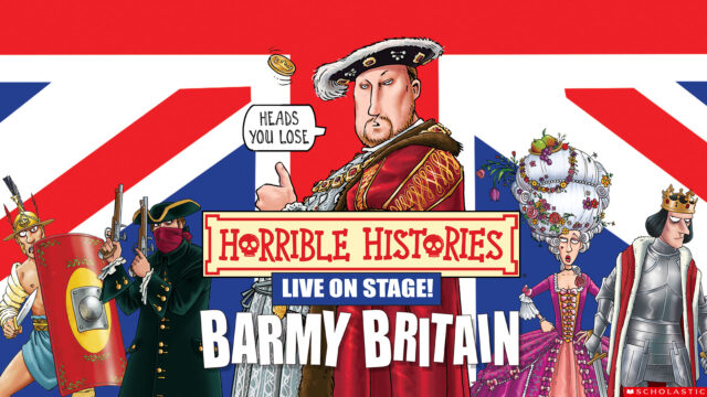 Horrible Histories - Barmy Britain promotional image