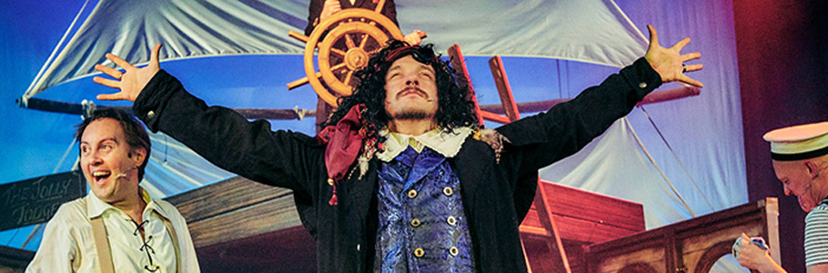 Treasure Island production image
