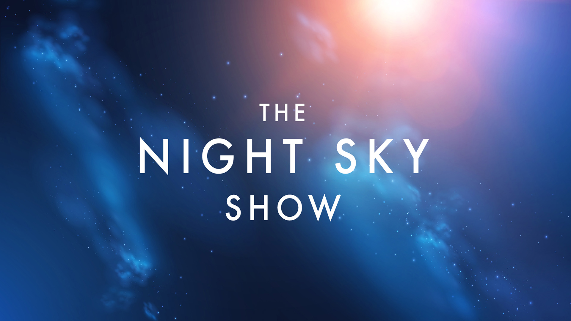 The Night Sky Show promotional image