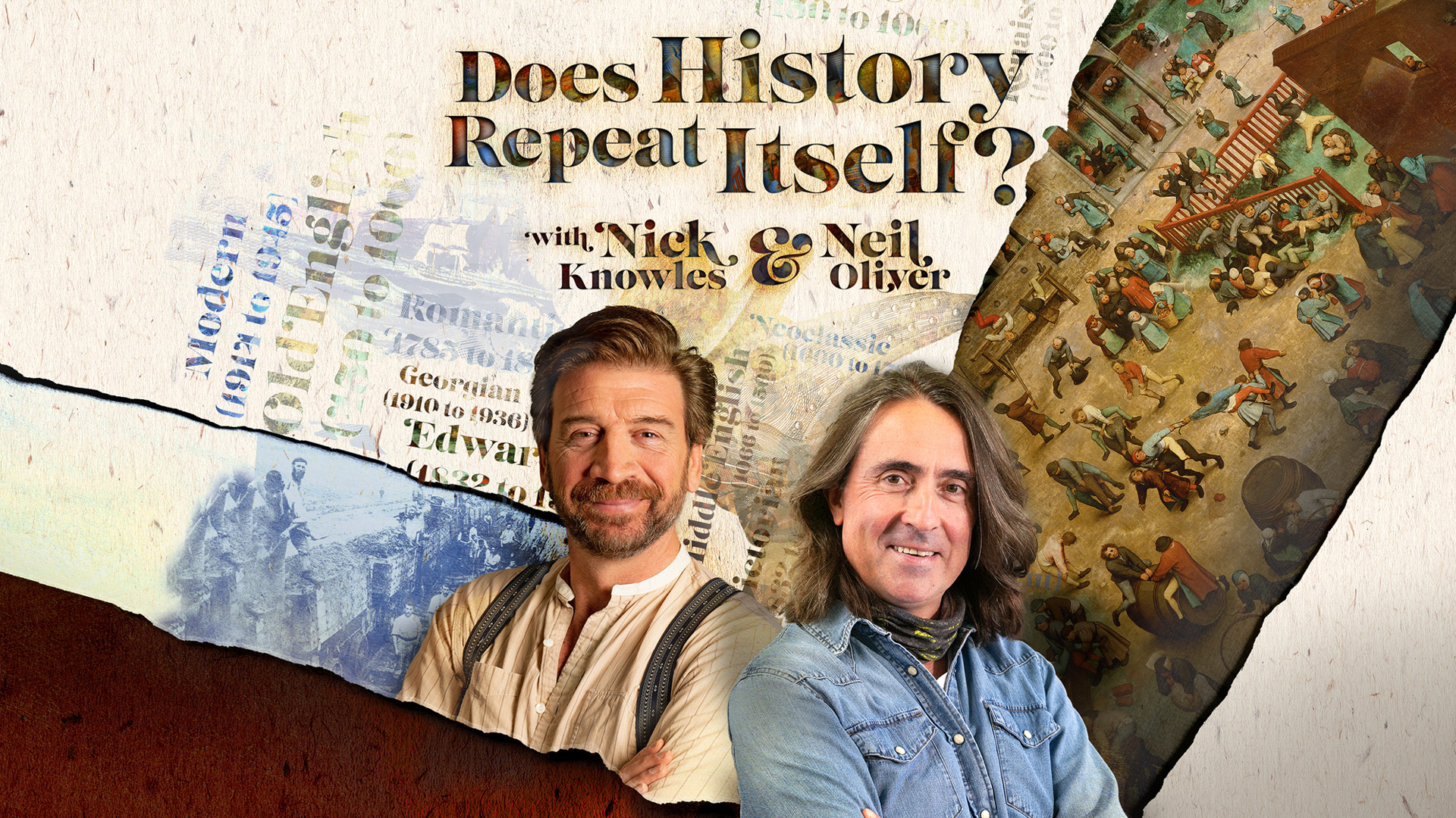 Does History Repeat Itself? with Nick Knowles & Neil Oliver - promotional image