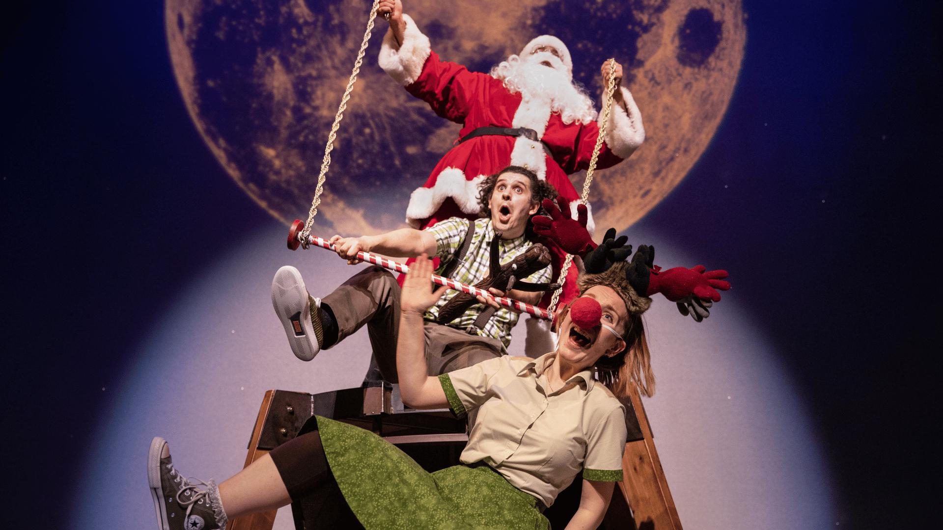 Stick Man, Stick Lady Love and Santa Claus