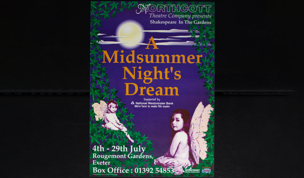 A Midsummer Night's Dream (First Shakespeare in the Gardens production, Rougemont Gardens), July 1995