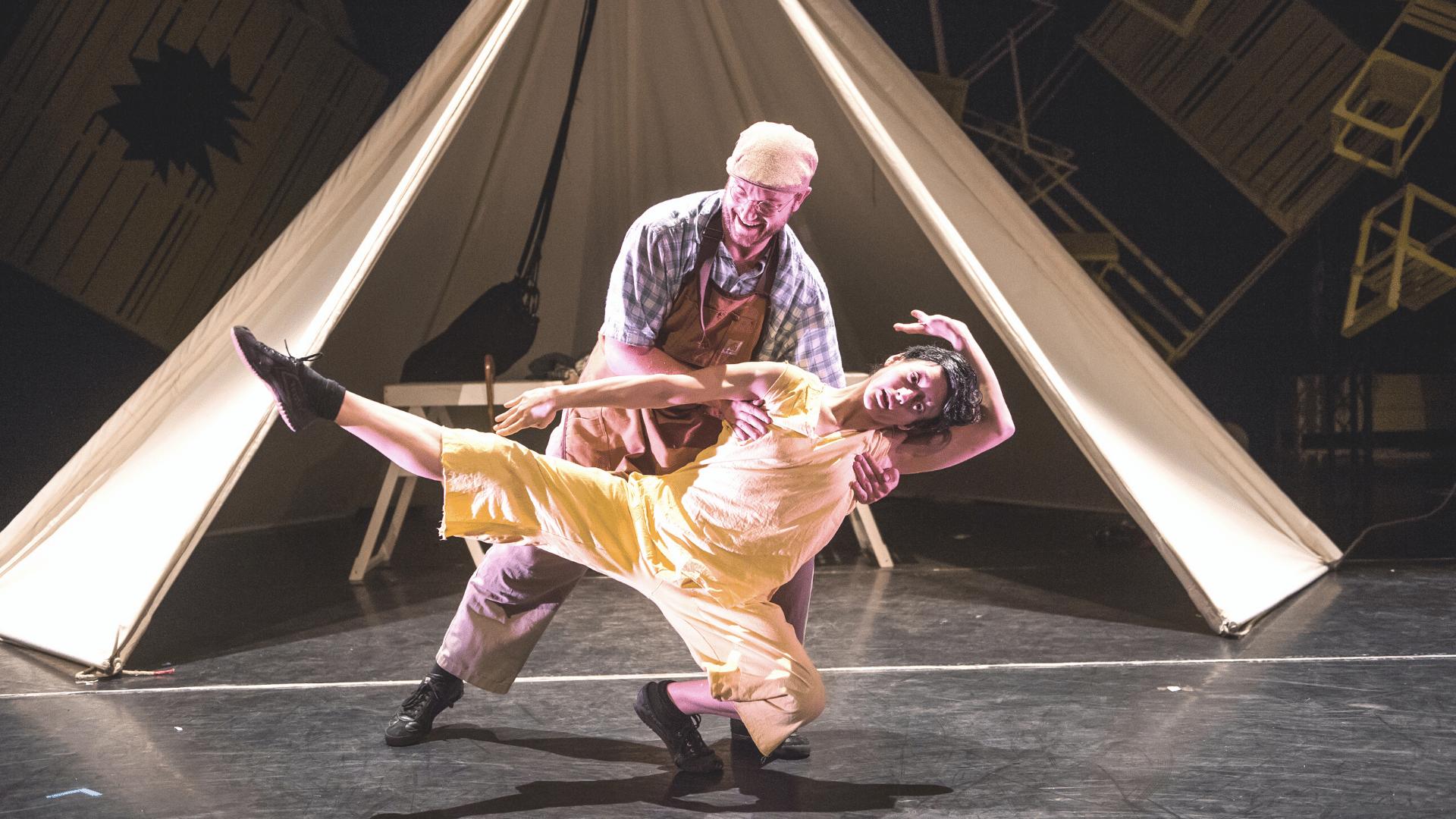 JVC' Pinocchio, featuring dancers Maria Doulgeri and David Lloyd