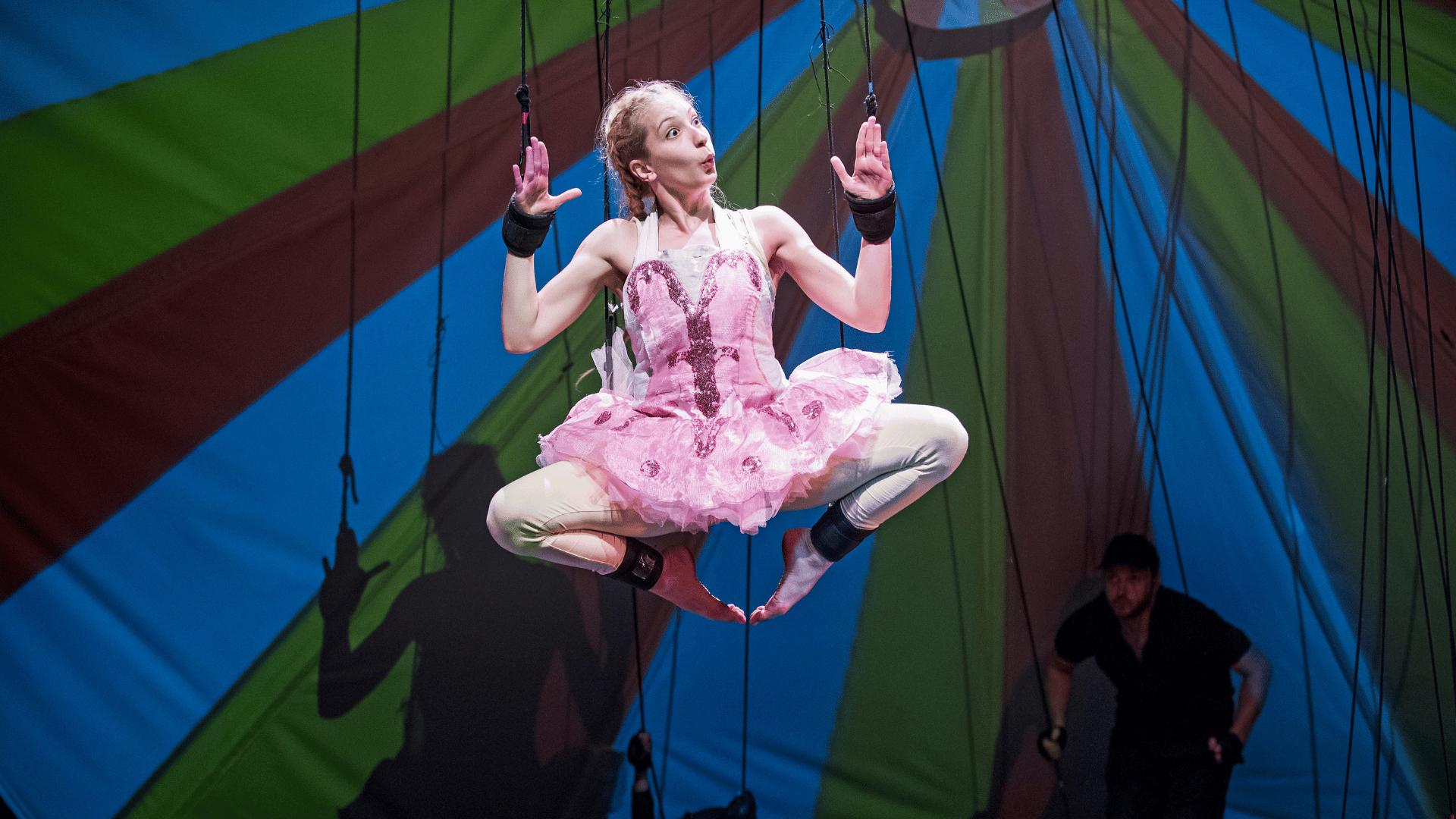 JVC' Pinocchio, featuring dancer Stefania Sotiropoulou