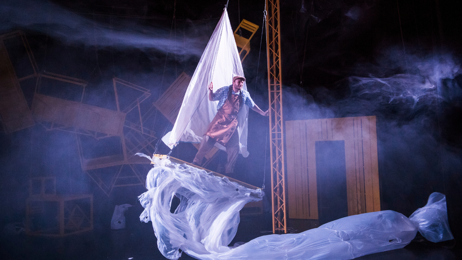 JVC' Pinocchio, featuring dancer David Lloyd