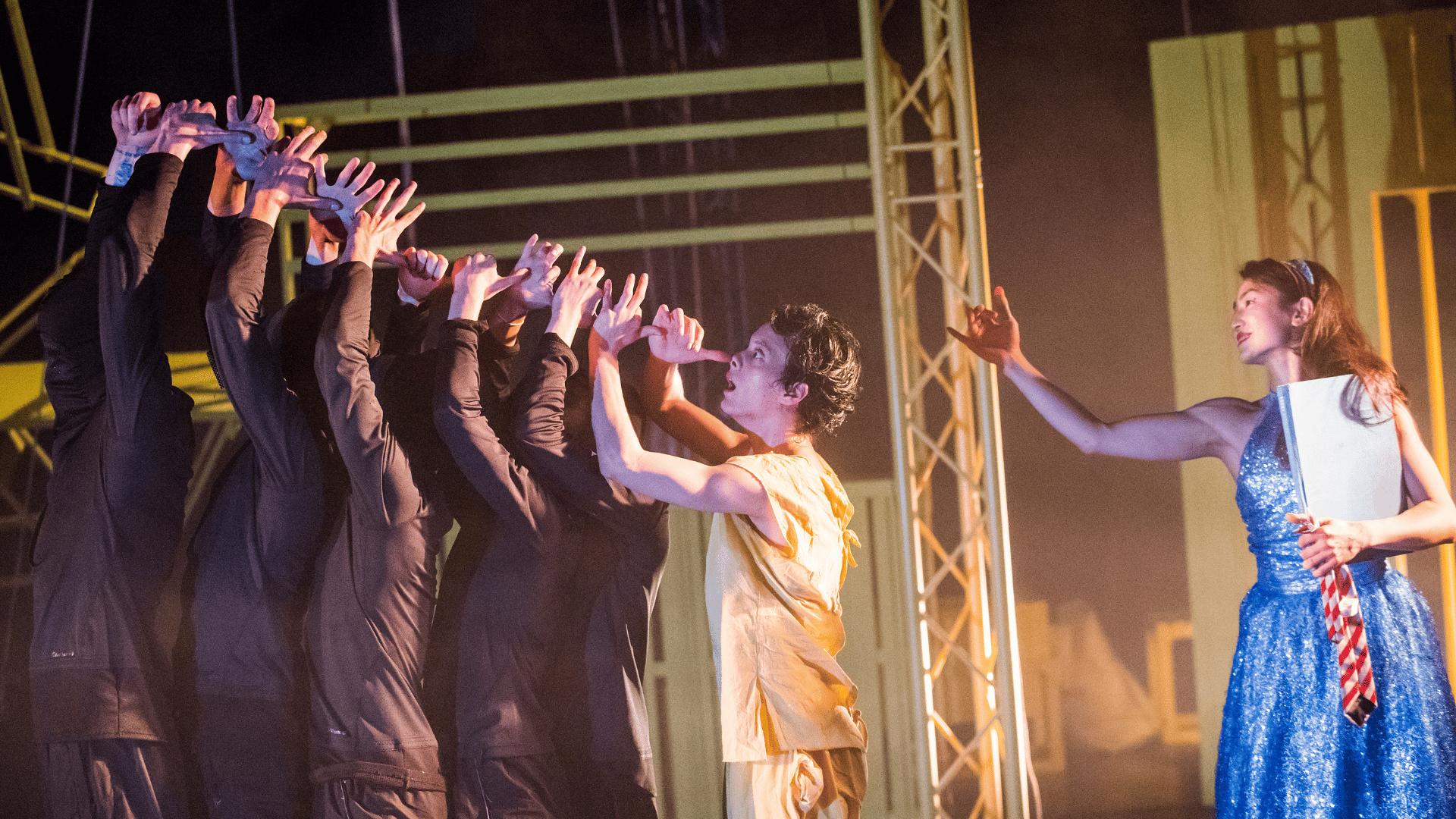 JVC' Pinocchio, featuring dancers Maria Doulgeri, Aoi Nakamura