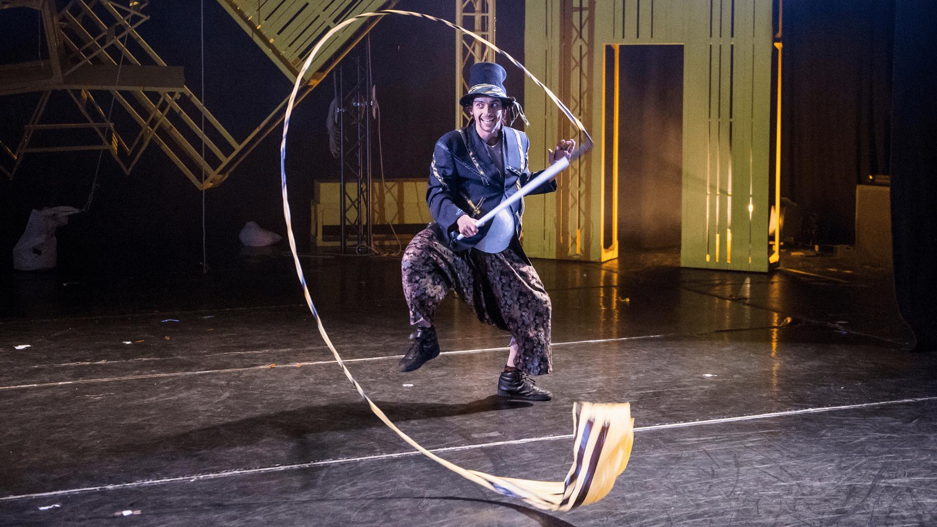 JVC' Pinocchio, featuring dancer Estéban Lecoq