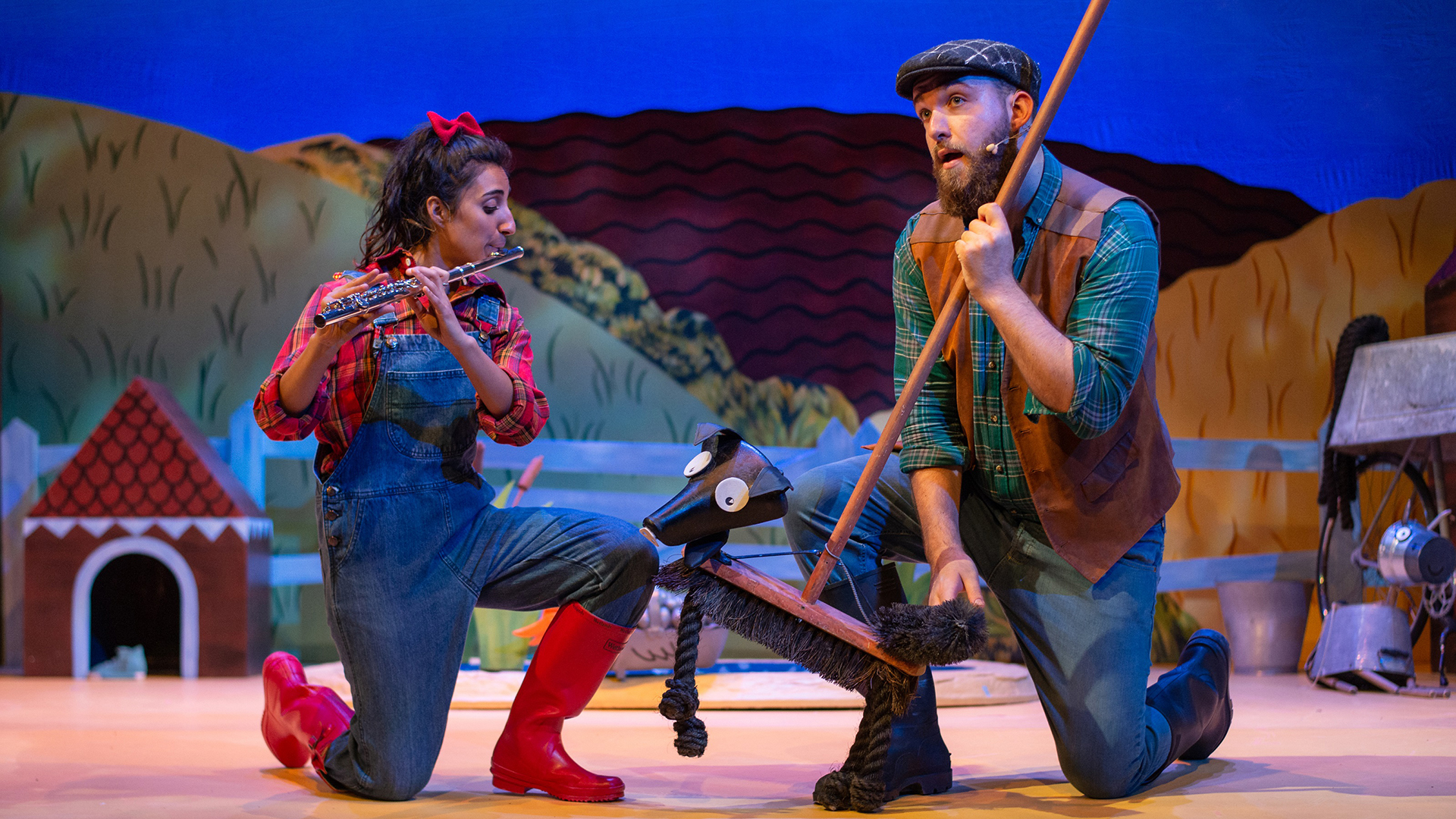 What the Ladybird Heard production shot
