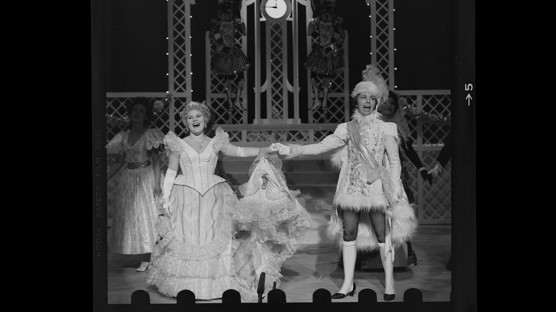Imelda Staunton in Cinderella 20 Dec 1978